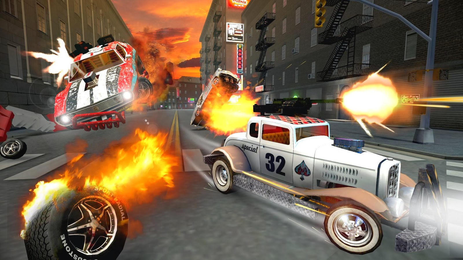 ACTION HERO Death Tour- Racing Action Game Download,