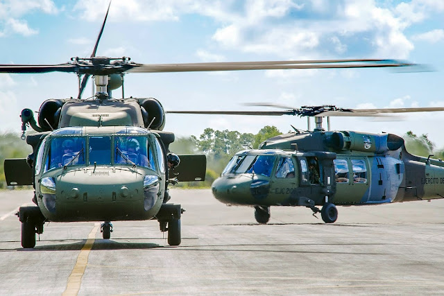 S70i Black Hawk Ejercito Colombia