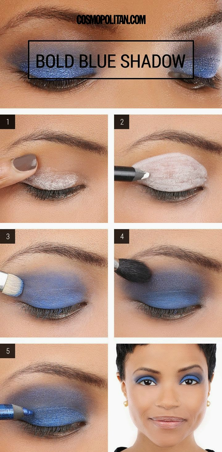 5 tips how to a bold blue smoky eye makeup tutorial 5 tips how to a bold blue smoky eye makeup tutorial baditri Image collections
