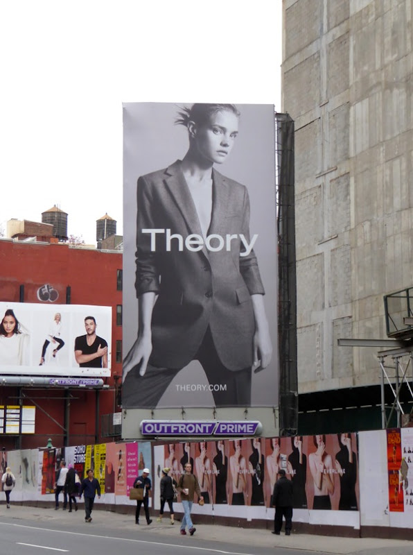 Theory F/W 2015 billboard NYC