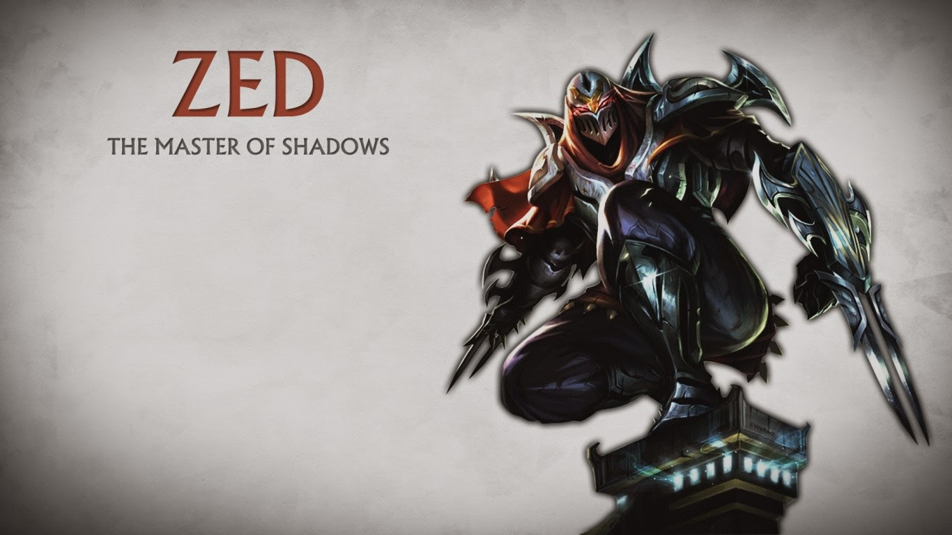 zed league of legends wallpaper zed desktop wallpaper