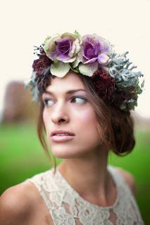 coronaflores01 Coronas de flores para tu boda