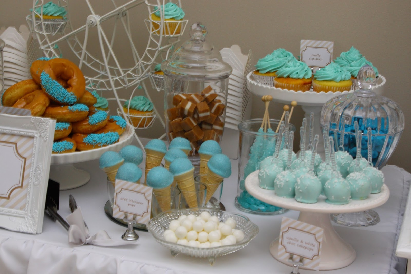 94 Blue Food Ideas For Baby Shower Royal Prince Baby Shower