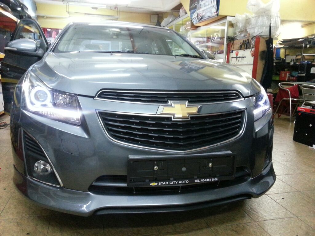 Evolution Car Accessories: Chevrolet Cruze 2013 Sport Edition ...