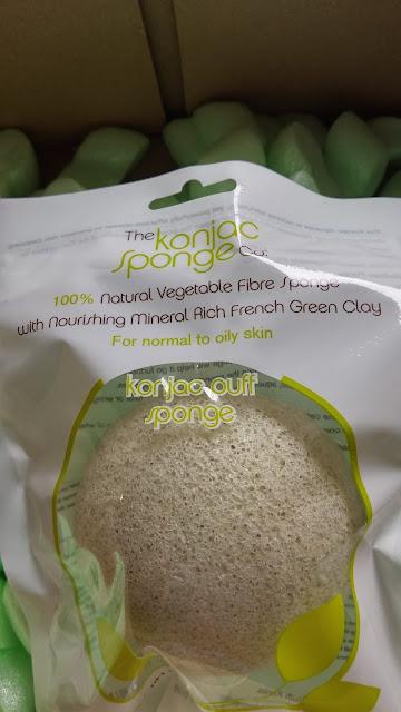 The Konjac Sponge&Co., Spugna Viso Konjac all'argilla verde