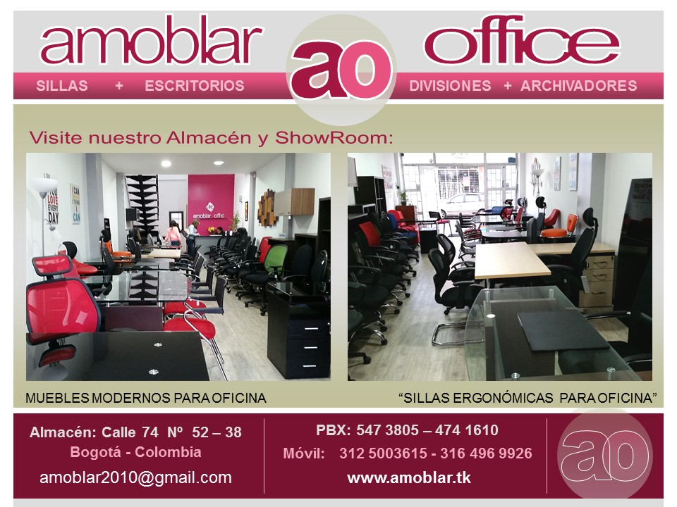 Amoblar office muebles para oficina bogota pbx 57 1 for Muebles oficina colombia