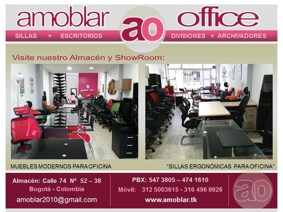 Amoblar office muebles para oficina bogota pbx 57 1 for Almacenes de muebles en bogota