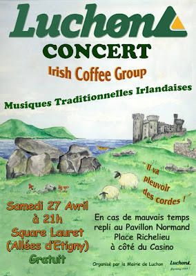 Musiques Traditionnelles Irlandaises L'Irish Coffee Group   luchon