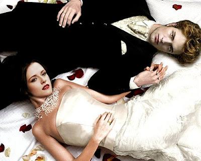 Robert Pattinson and Kristen Stewart on Breaking Dawn