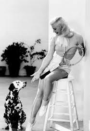 Ginger Rogers sa psom