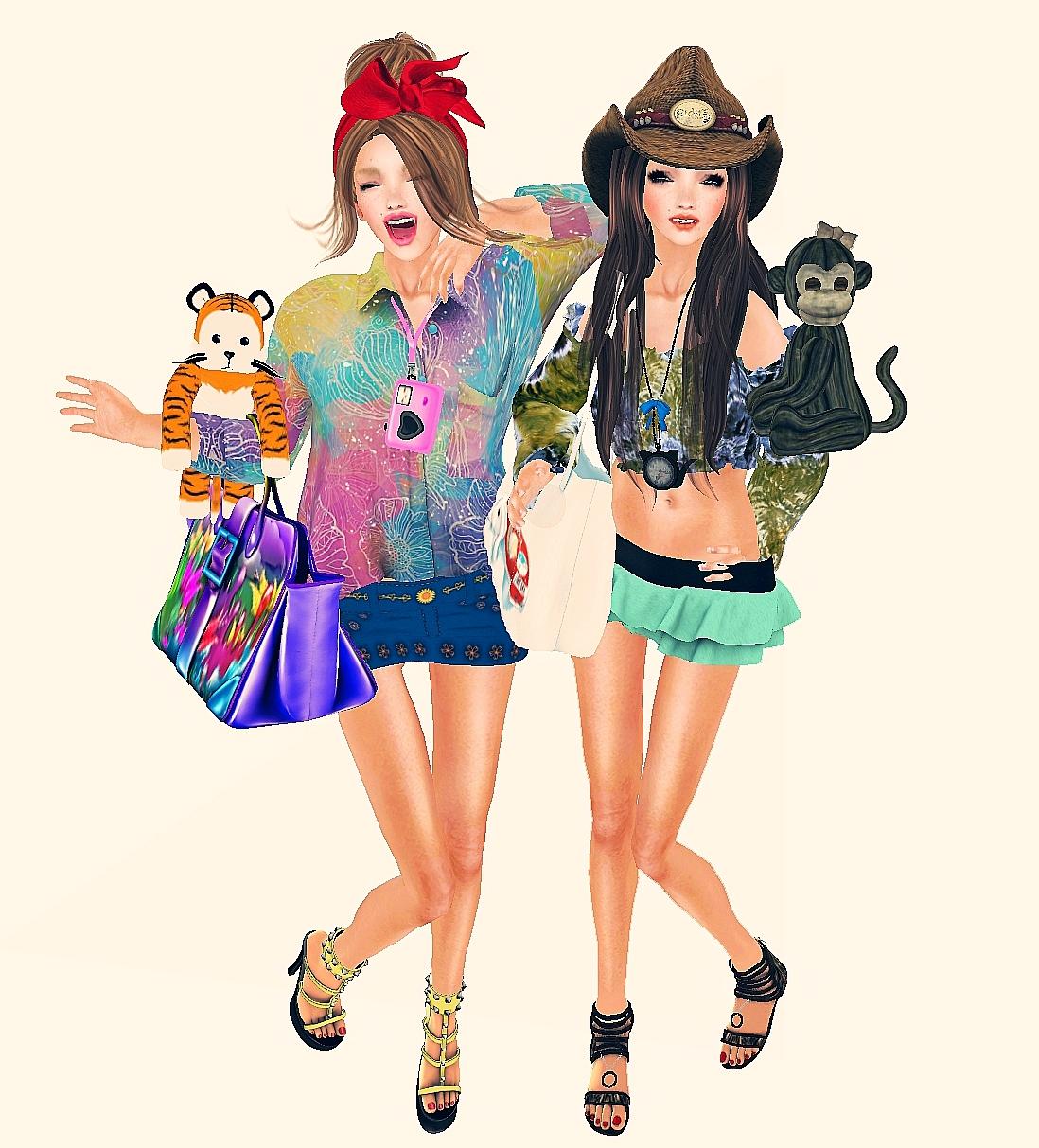 1c17fd1ec5e60 Top  The Plastik - Kalina (Taste Of Rainbow Hunt) Skirt   Epic Style -  miniskirt (Season s Palette Hunt) Shoes   Gabriel - MESH   Studs Yellow  Sandals ...