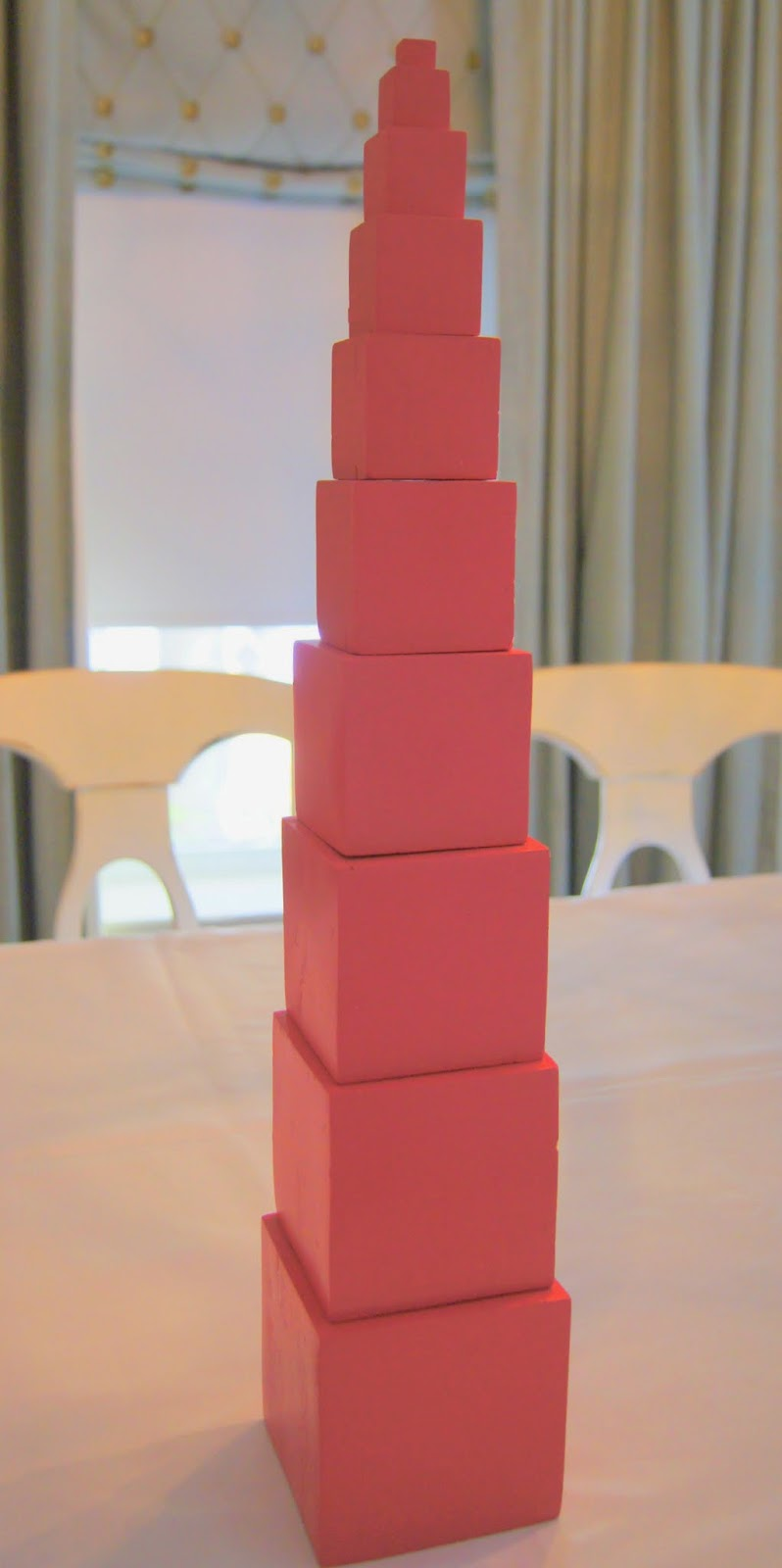 Diy Montessori Pink Tower Amp Brown Broad Stair Quot Making