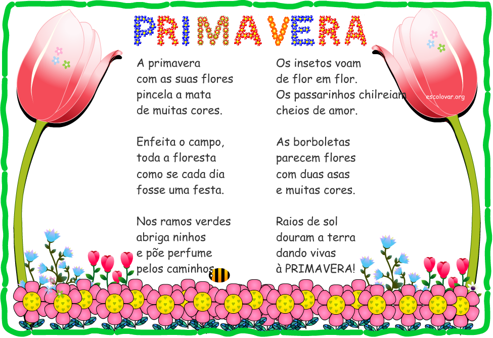 Poemas De Primavera En Espanol