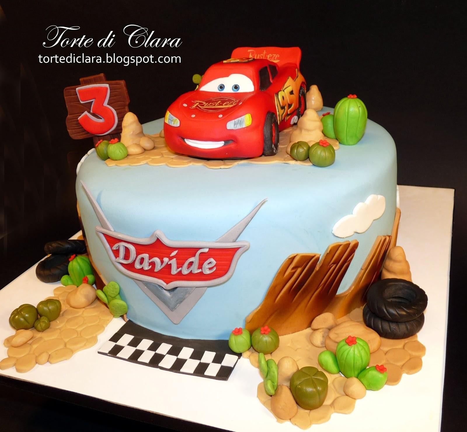 Torte Cake Design Cars : Torte di Clara
