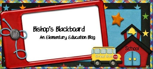 Bishop's Blackboard: A First Grade Blog