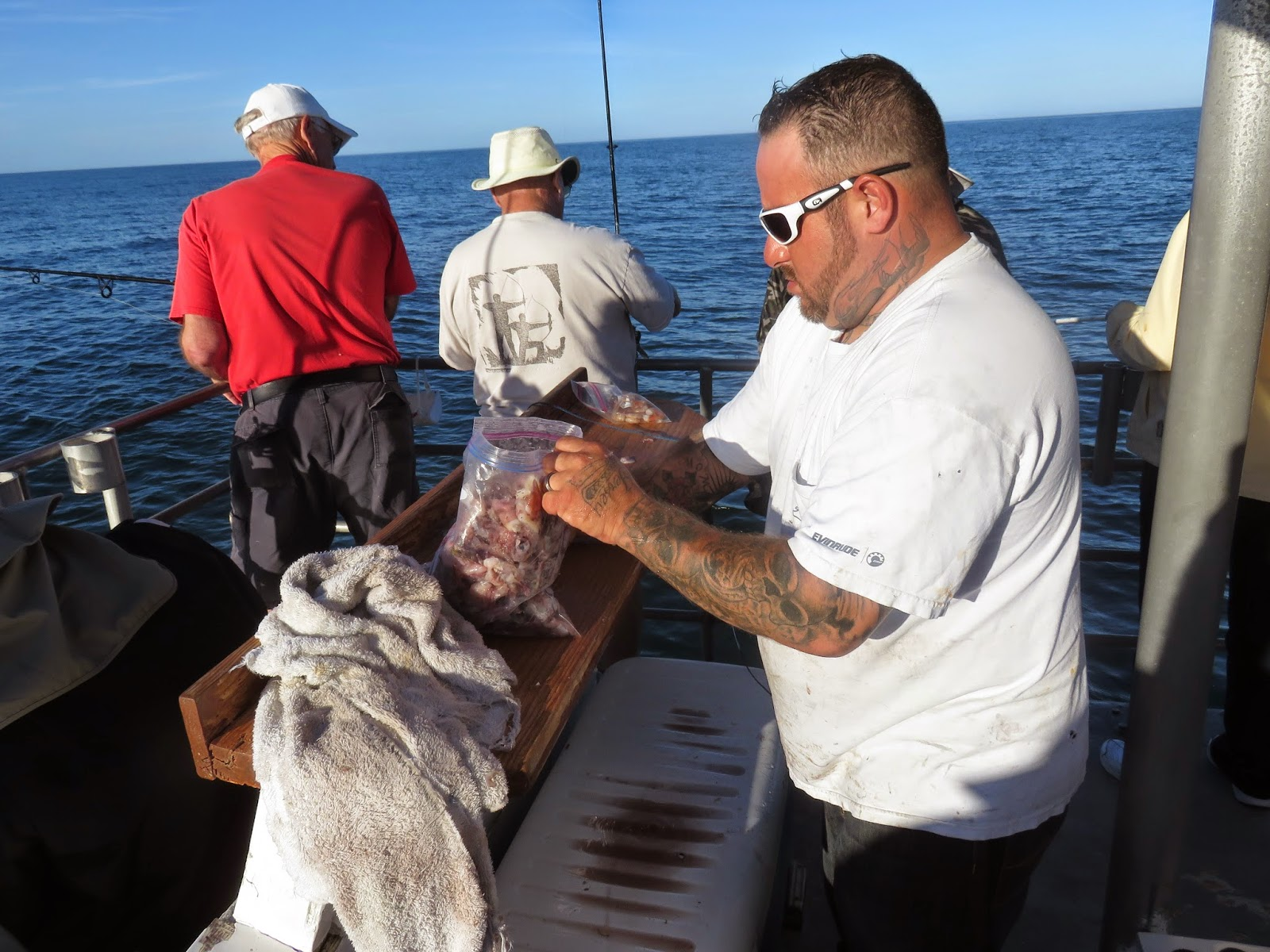 Spiroadrunneradventures bay fishing on the danny b on for South padre island fishing trips