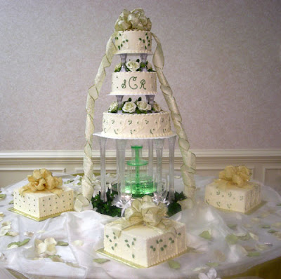 Wedding Cakes With Fountains Ideas Wedding Cakes With Fountains Ideas