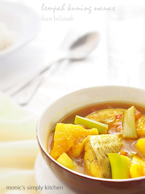resep lempah kuning nanas khas bangka