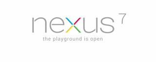google nexus7 tablet