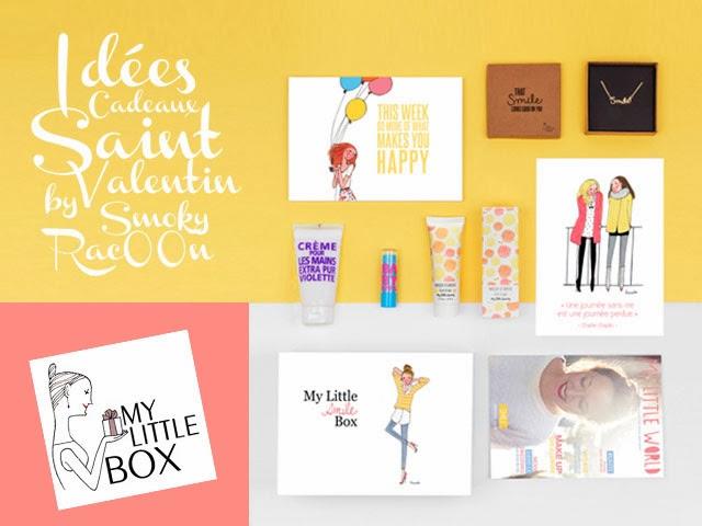 idées de cadeau saint valentin - box beauté my little box