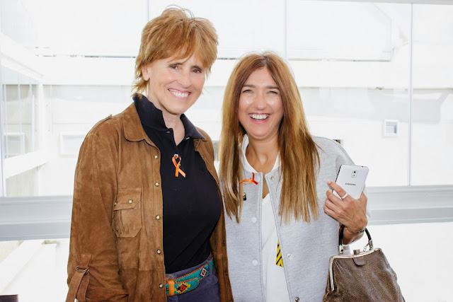 Mercedes Milá y Carmen Hummer