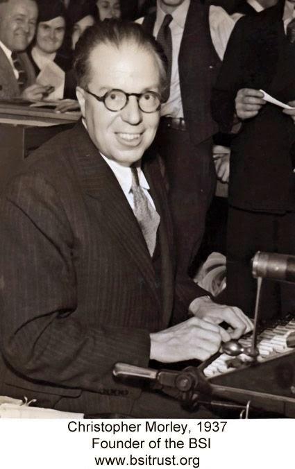 BSI founder Christopher Morley in 1937