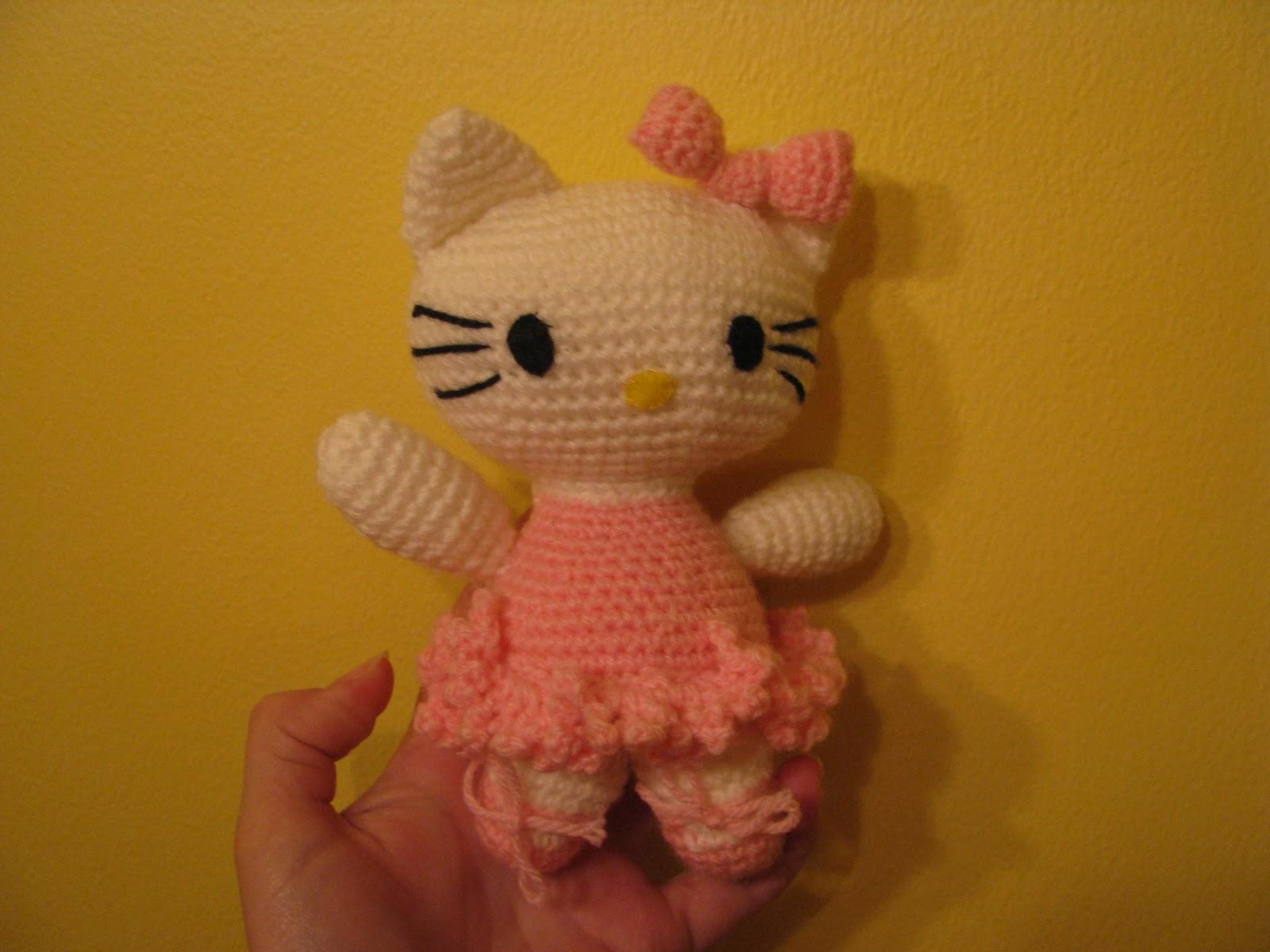 Tejiendo Peru Amigurumi Unicornio : El Crochet de Pola: Hello Kitty