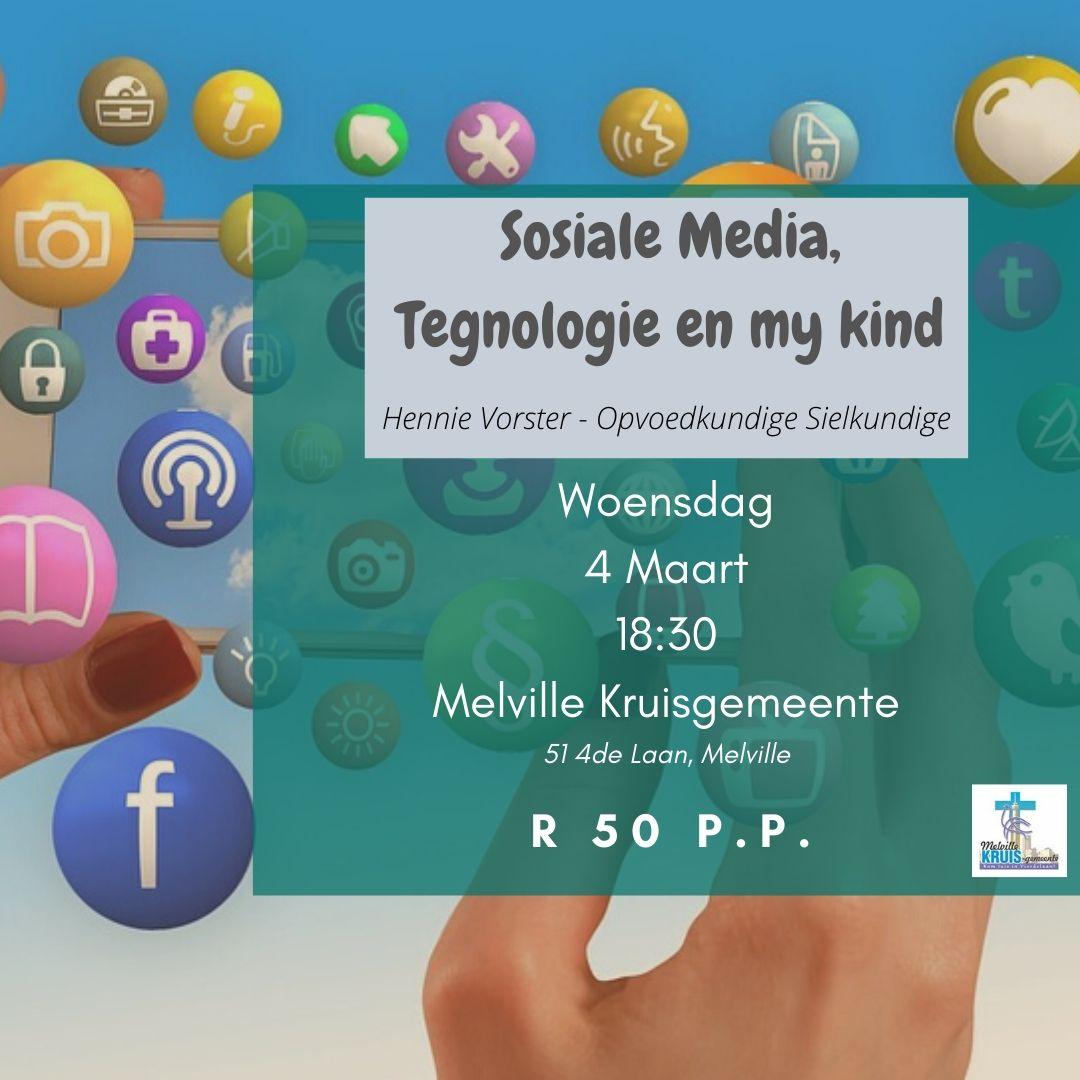 Praatjie : Sosiale Media, Tegnologie en my kind