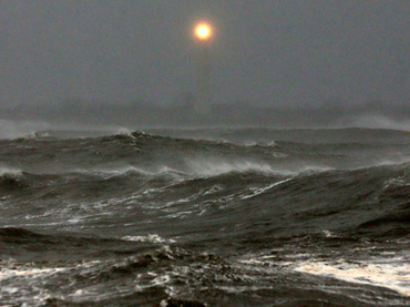 Taurus Full Moon – Shelter From Hurricane Sandy