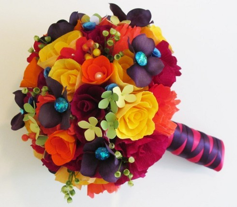 I Just Adore The Bright U0026 Festive Way You Can Fancy Up A Party With Paper  Flowers. If You Are Willing To Put In The Extra Time To Make Your Party  Fabulous ...