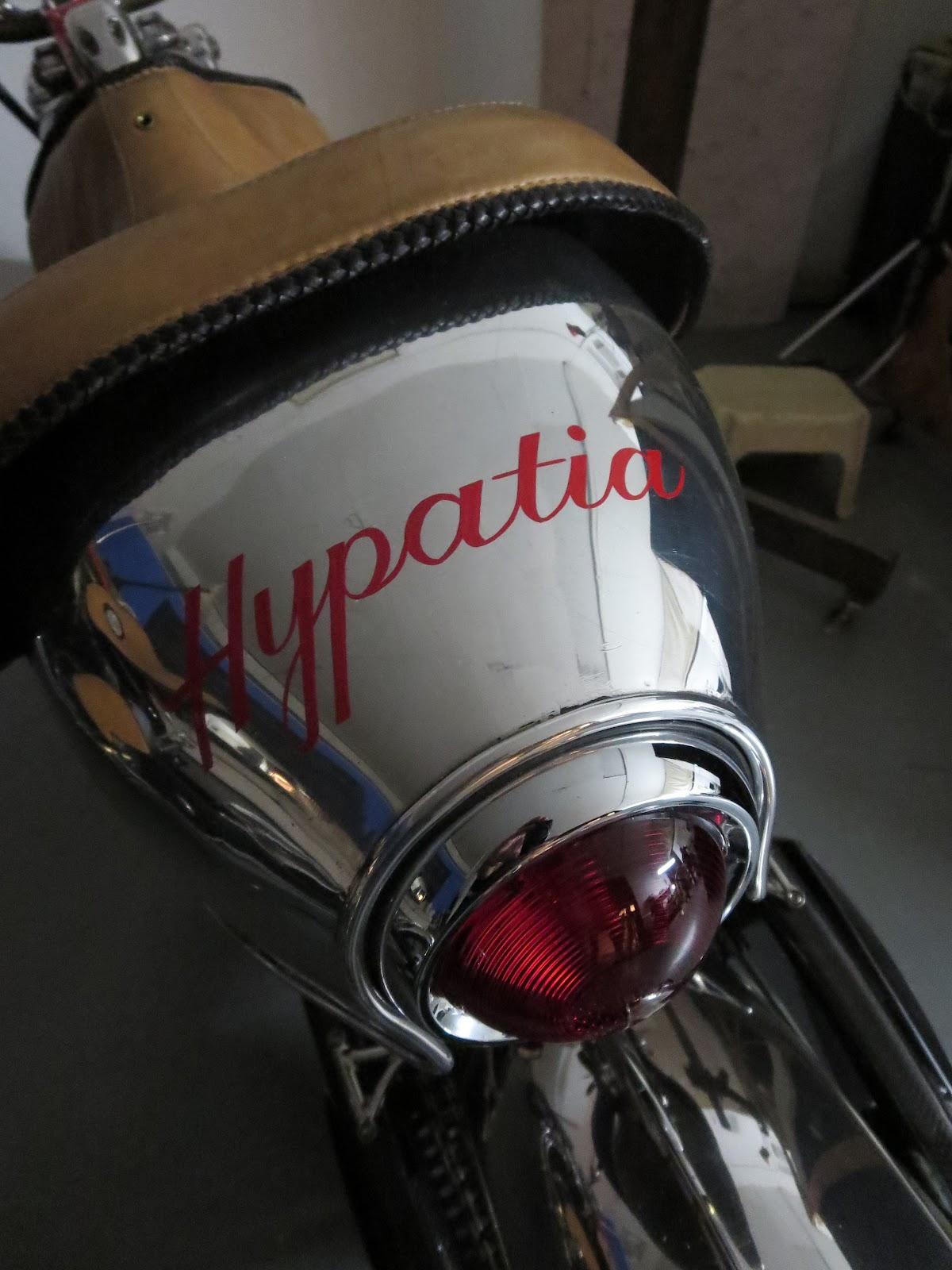 Bienville Legacy Motorcycle Hypatia