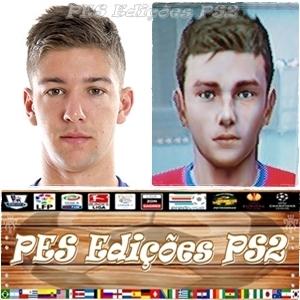 Luciano Vietto (Atlético de Madrid) e Argentina PES PS2