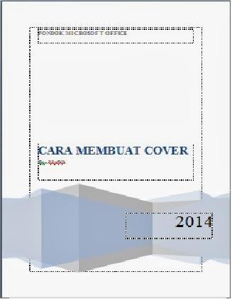 contoh penggunaan cover page