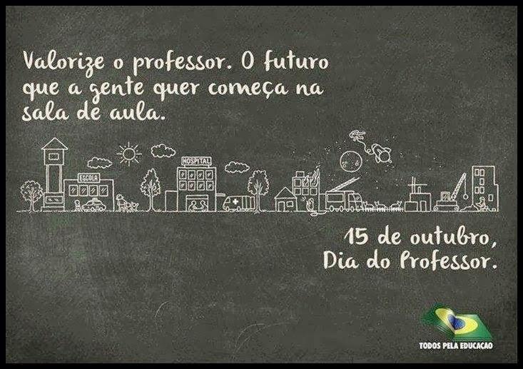 Mensagens de Feliz Dia do Professor