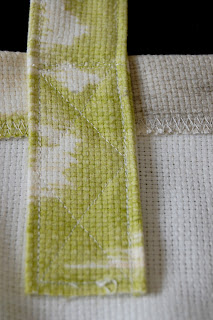 double x stitch pattern for reinforcement