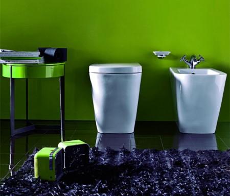 Idee casa pareti in resina colorata per il bagno - Resina pareti bagno ...
