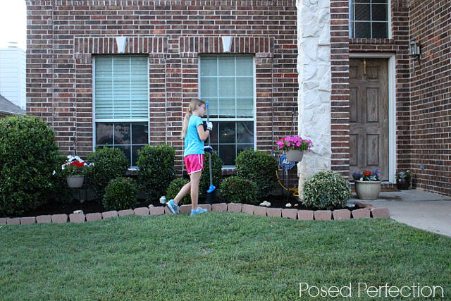 Summer Landscaping with Mulch