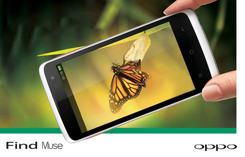 jual oppo find muse