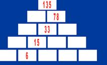 ¡Una pirámide matemática!