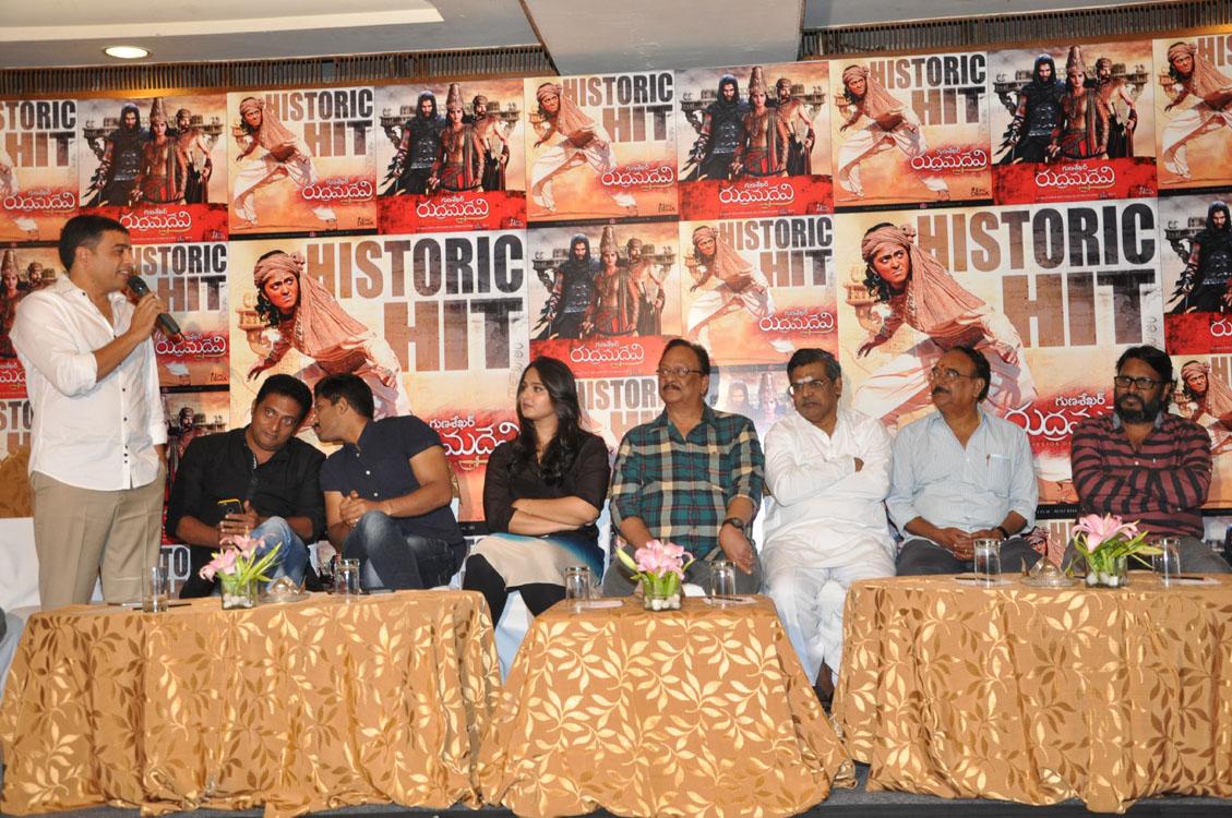 Rudramadevi movie success meet photos-HQ-Photo-21