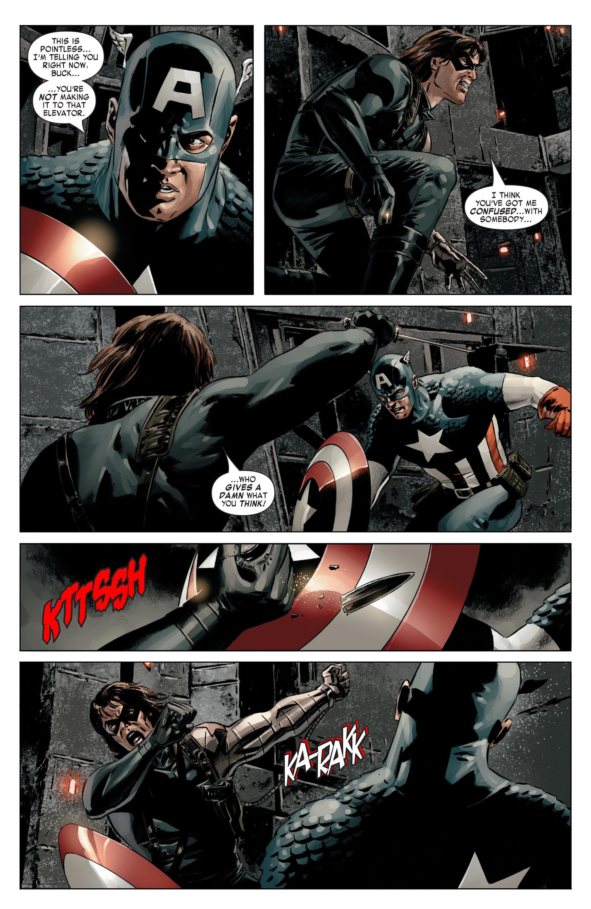 Captain America (2005) Issue #14 #14 - English 12