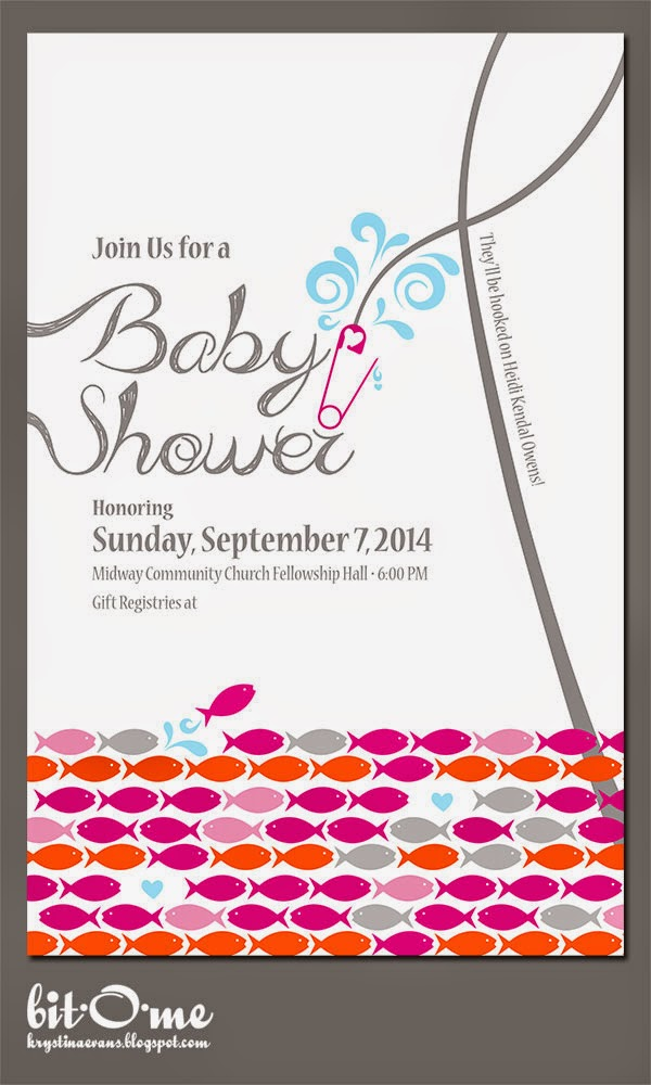 Bit o me fishing baby shower the invitation filmwisefo