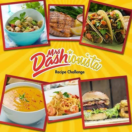 Mrs. Dash Dashonista Recipe Challenge