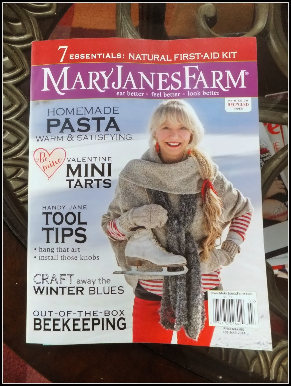 As Featured in MaryJanes Farm Magazine