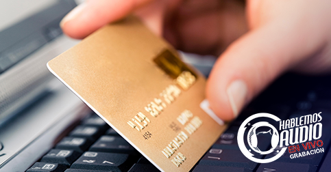 Paga con tu tarjeta de crédito Visa o Mastercard