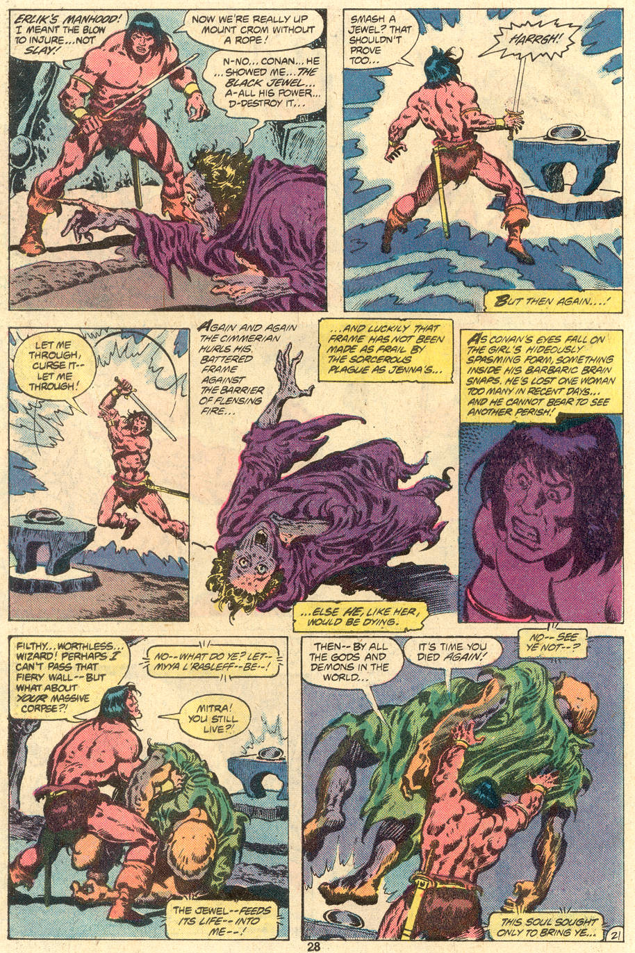 Conan the Barbarian (1970) Issue #118 #130 - English 22