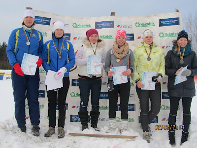 Vasakult: Maret Vaher, Mirja Virve, Daisy Kudre, Piret Pärnik, Piibe Tammemäe, Triinu Rooni