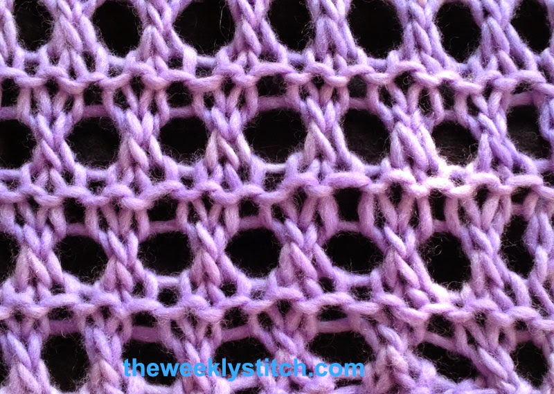 Open Honeycomb The Weekly Stitch