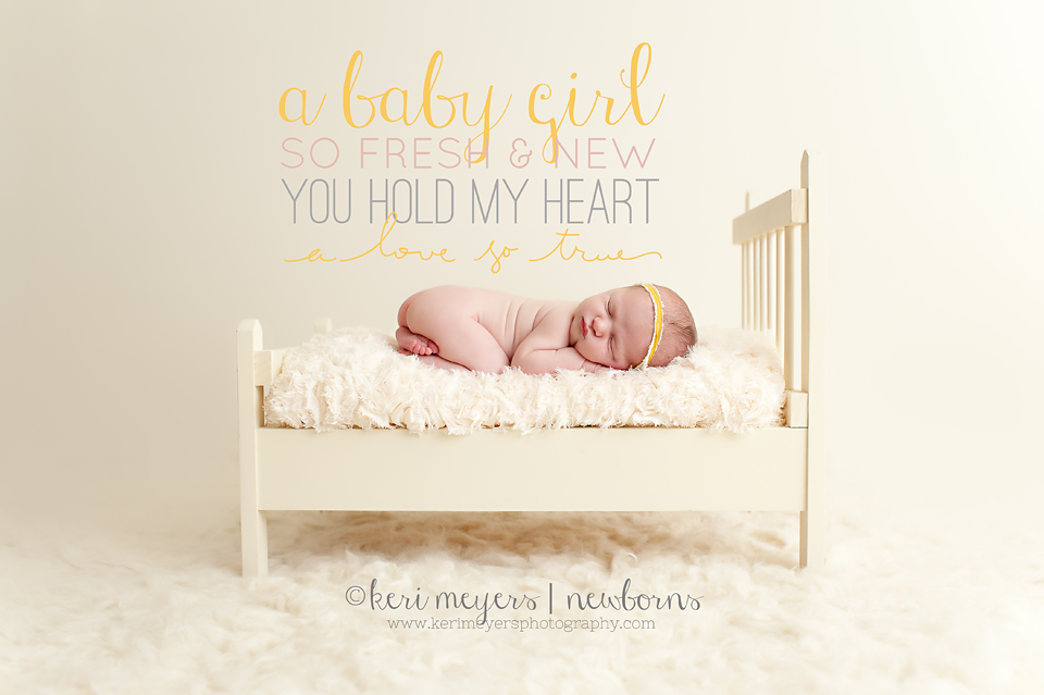 Newborn Photography { Featuring Keri Meyers Photography }