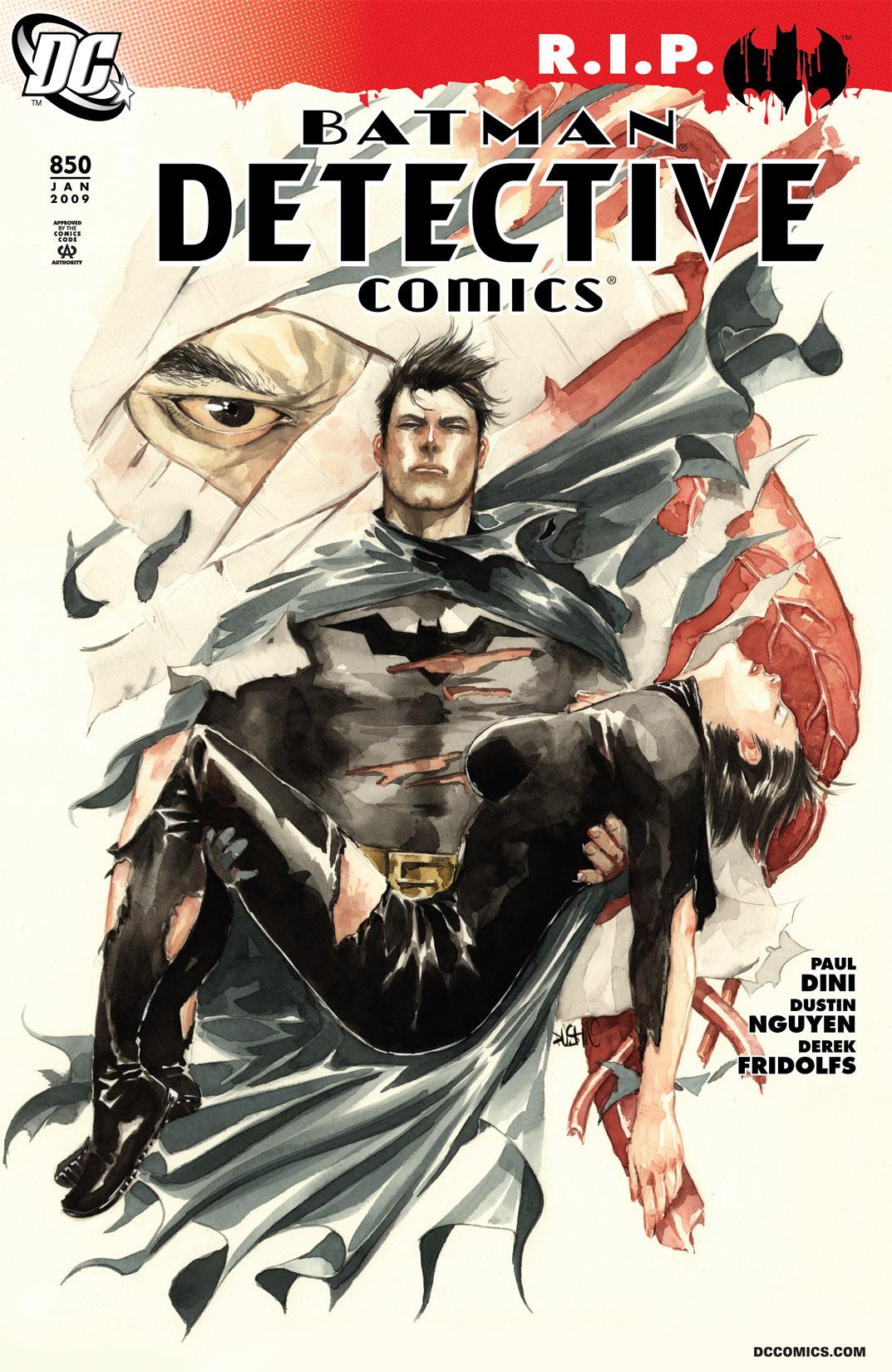 Detective Comics (1937) 850 Page 1
